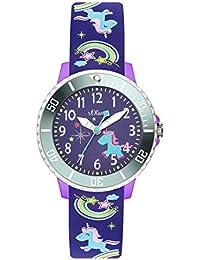 s.Oliver Time Mädchen-Armbanduhr SO-3434-PQ