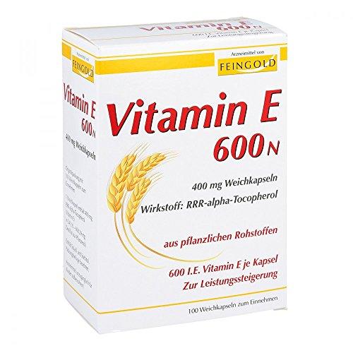 Vitamin E 600 N Weichkaps 100 stk