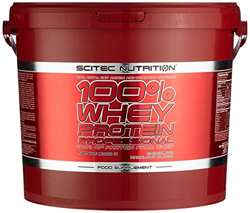 Scitec Nutrition Whey Protein Professional, Schokolade-Haselnuss, 1er Pack (1 x 5000 g)