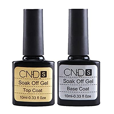 MML 2 pcs Top coat + Base coat Uv Gel Nail Polish Primer Nail Art