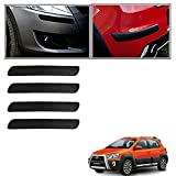 #5: Motoway Car Bumper Safety Guard Protector Black For Chevrolet Spark