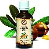 Argan Öl 100% Natürliche und Reine - Argania Spinosa Argan Oil 100ml - Kaltgepresst und Desodoriert - aus Kontrolliert Biologischem Anbau (Kba) - Herkunftsland Marokko
