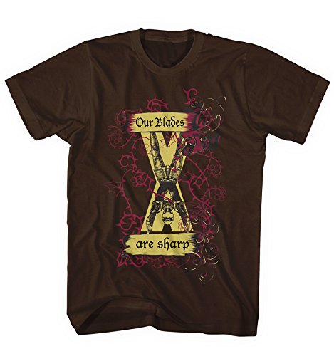Herren T-Shirt Game of Thrones Haus Bolton Our Blades are Sharp Serie TV