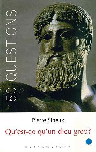 Qu'est-ce qu'un dieu grec ?