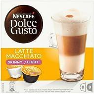 NESCAFÉ Dolce Gusto Skinny Latte Macchiato Coffee Pods, 16 Capsules (8 Servings)