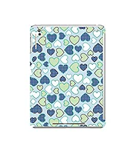 PrintVisa Designer Back Case Cover for Apple iPad Mini Wifi :: Apple iPad Mini Wifi + Cellular (7.9 Inches) (Nice love design :: Love Symbol Design Pattern :: Coloured love symbol wallpaper :: beautiful love symbol Pattern)