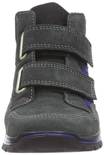 Ricosta Boysen Jungen Hohe Sneakers Grau (grigio/schwarz 480)