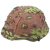 Reproduction WWII WW2 German OAK CAMO M35 Reversible Helmet Cover