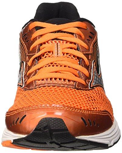 Mizuno Wave Sayonara 3 Herren Laufschuhe Mehrfarbig (Vibrant Orange / Silver / Black)