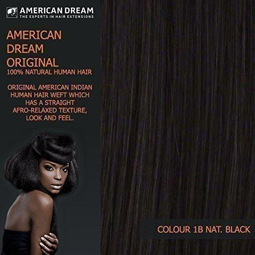 American Dream Yaki lisse ORIGINAL américain indien trame DE CHEVEUX HUMAINS/TISSAGE 12 \\