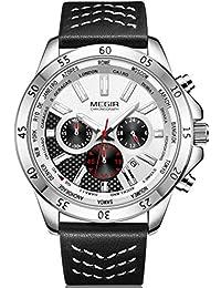 62602123274d reloj megir - Blanco  Relojes - Amazon.es
