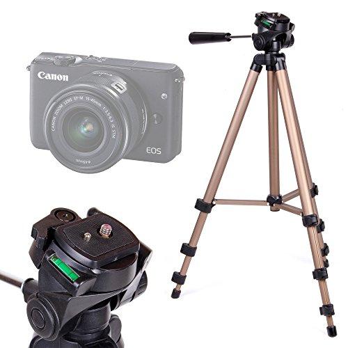 Galleria fotografica Treppiede pieghevole e rotante Per Camera Easypix W1024 Full HD | Fujifilm FinePix XP120 | X100F | Nikon A10 Coolpix Silver | Coolpix A100 - 43-125 cm - Alta Qualità - DURAGADGET