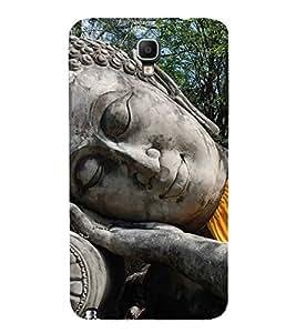 FUSON Buddha Statue Sleeping 3D Hard Polycarbonate Designer Back Case Cover for Samsung Galaxy Note 3 Neo :: Samsung Galaxy Note 3 Neo Duos :: Samsung Galaxy Note 3 Neo 3G N750 :: Samsung Galaxy Note 3 Neo Lte+ N7505 :: Samsung Galaxy Note 3 Neo Dual Sim N7502