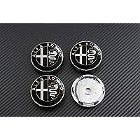 4 círculos tapacubos Alfa Romeo Mito Giulietta 147156159Brera 60mm Tuning.