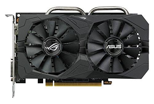 Asus ROG Strix-RX460-4G-Gaming AMD Radeon Grafikkarte (4GB DDR5 Speicher, PCIe 3.0, HDMI, DVI, DisplayPort)