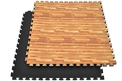 Tatami Puzzle, 3cm, Bois/Noir