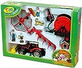 TIM/Siku Bauernhofset 1:32 Traktor mit Geräten