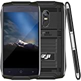 HITSAN [HK Stock] ZOJI Z6 Triple Proofing Phone, 1GB+8GB, IP68 Waterproof Dustproof Shockproof, Fingerprint Unlock, 4.7 Inch Android 6.0 MTK6580 Quad Core Up To 1.3GHz, Network: 3G, OTA, GPS, BT, WiFi, FM, Dual SIM(Black)