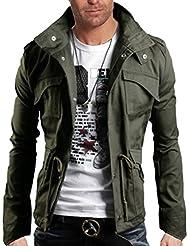 WSLCN Homme Coton Blouson de Chasse de Haut Qualité