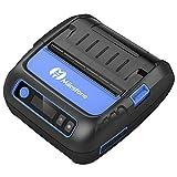Impresora de Etiquetas Bluetooth Impresora térmica Impresora de Recibos de Etiquetas Impresora portátil de 80 mm Mini Impresora portátil Bluetooth Compatibilidad con el Fabricante de