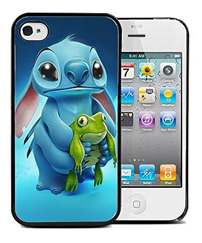 Coque BUMPER IPHONE 4/4s-LILO & STITCH grenouille + Film de