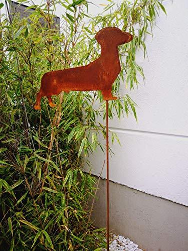Zen Man 031081-2 - Decoración para jardín (Metal, 110 x 20 cm, Aspecto Oxidado): Amazon.es: Jardín