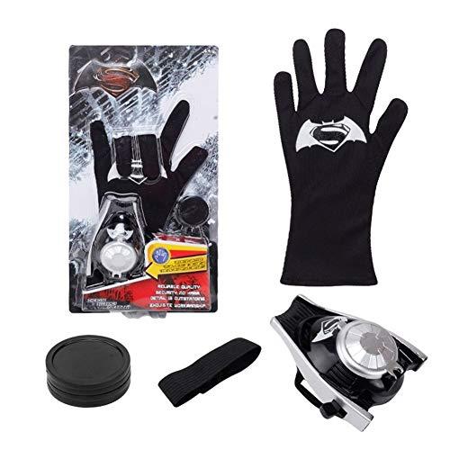 LIUMSJ Superhelden Spider - Man Handschuhe Laucher Spiderman Batman Wrist Launchers Hulk Spielzeug für Kinder Tropfen (Color : Set 5)