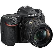 Nikon AF-S Nikkor D500 DX 16-80 mm VR-Cámara de Fotos Réflex Digital DX, 21,51 Mpx, Pantalla LCD Táctil Inclinable AF 153 Puntos y Vídeo 4 K/UHD, SD Pro 633 X Lexar 16GB, Color Negro [Nital Card: 4 Años de Garantía]