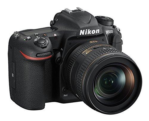 Nikon D500 + AF-S DX 16-80mm VR + SD SLR-Kamera-Set 20,9 MP CMOS 5568 x 3712 Pixel Schwarz - Digitalkameras (20,9 MP, 5568 x 3712 Pixel, CMOS, 4K Ultra HD, Touchscreen, Schwarz)