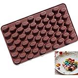 Glückliy Kaffeebohnen Jelly Form Cookie Süßigkeiten Formen Schokolade Fach Kuchen Dekorieren Fondant DIY Silikonform Küche Backformen