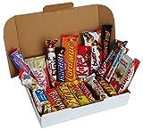 CAPTAIN PACK® Snack Box mit verschiedenen Schokoriegeln