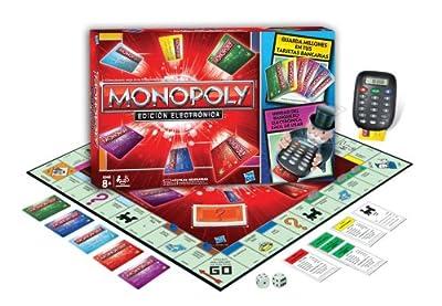 Juegos en familia Hasbro - Monopoly Electronic Banking 37712105 por Hasbro