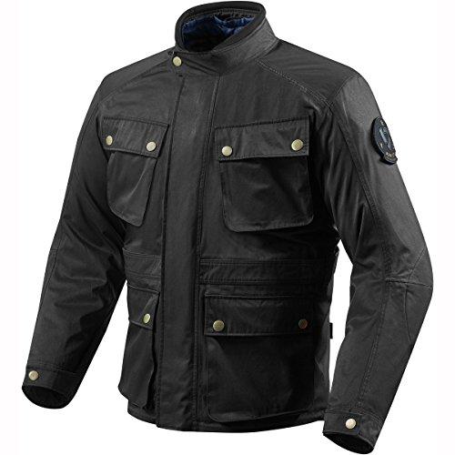 REV\'IT! NEWTON Herren Motorrad Textiljacke City - schwarz Größe 2XL
