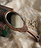 Hashcart Colorful Engraved Brown Oval Ha...