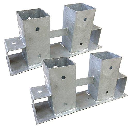 *2x Stapelhilfe verzinkt Brennholz Kaminholz Holzstapelhilfe Holz Gestell*