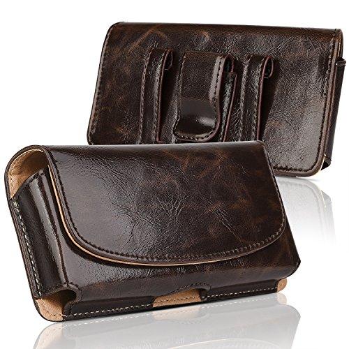 innext iPhone 76/6S [Plus Taille Multipurpose Holster clip ceinture sac de transport avec clip ceinture pour Apple iPhone Pouch] en cuir horizontale 6S/S7/EDGE/LG G5/HTC 530