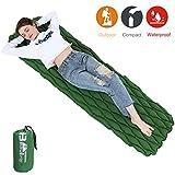 BEAUTRIP Outdoor Aufblasbare Schlafmatte für Camping, Wandern, Backpacking - Wasserdichte und ultraleichte Schlafmatte - Geeignet für Hängematte, Zelte und Picknick-Matte