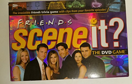 Click for larger image of Scene It? Friends Edition DVD Board Game