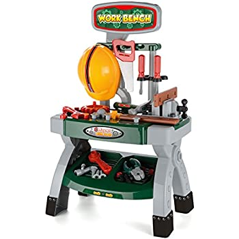 Bosch Toy Workbench With Sound Amazon Co Uk Toys Amp Games