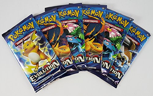 Pokémon XY12 Evolution Booster (6 Stück)