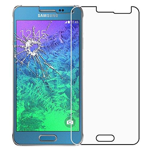 ebeststar - vetro temperato compatibile con samsung galaxy alpha sm-g850f protezione schermo pellicola anti shock, anti rottura, anti graffio [apparecchio: 132.4 x 65.5 x 6.7mm, 4.7'']