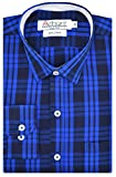 #9: Arihant Men's Checkered Full Sleeves Reguler Fit 100% Cotton Club Wear Formal Shirts
