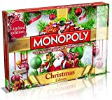 Christmas Monopoly board game