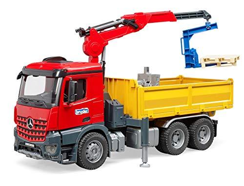 Bruder 03651 - MB Arocs Baustellen-LKW