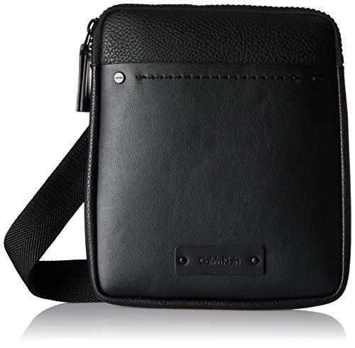 Calvin Klein Herren Joah Flat Crossover Schultertasche, Schwarz (Black), 3 x 27 x 22 cm Preisvergleich