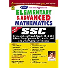 SSC Elementary and Advanced Mathematics useful for SSC CGL, SSC CPO, SSC CHSL exams