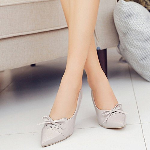 Escarpins Gris Coolcept Talons Chaussures Mariage De Aiguille Femmes RqRwrxF1