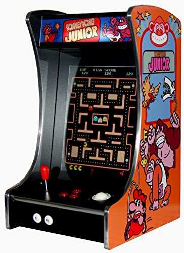 G-288 Donkey Kong Arcade Video Machine TV Spielautomat Thekengerät Cabinet Automat 412 Spiele
