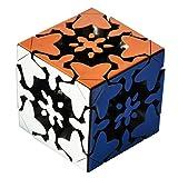 Maomaoyu Cubo de 3X3 3x3x3 de Engranajes , 3D Versión Impresa Gear Cube Stickerless Puzzle Magico Cubo de la Velocidad (Sin Pegatinas)