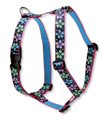 Lupine Hundegeschirr 2,5cm Flower Power Power Harness